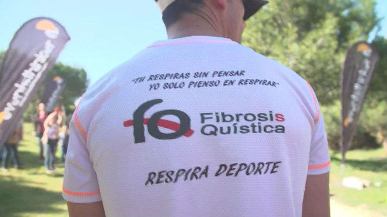 Cientos de madrileños participan en la 'II Carrera de la Fibrosis Quística'