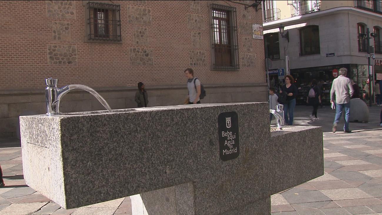 Madrid recupera sus fuentes públicas