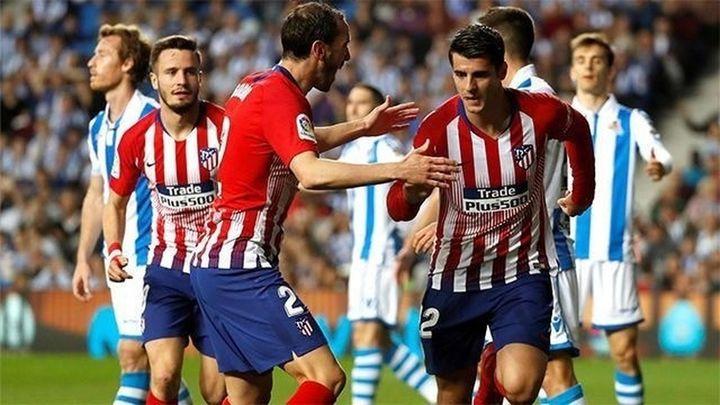 0-2. Morata mantiene al Atlético en la lucha por la Liga