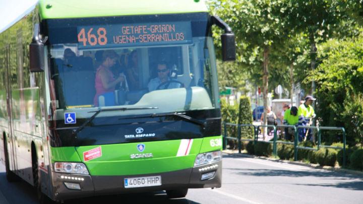 La Línea 468 conectará Humanes y Griñón con el Hospital de Fuenlabrada