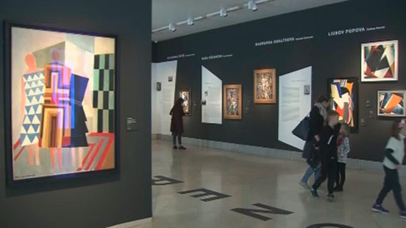 El Thyssen rinde homenaje a las pioneras que revolucionaron la pintura rusa
