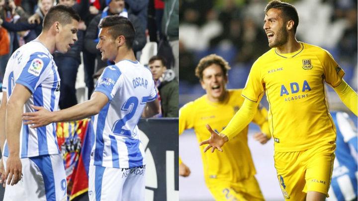 'Lega' gana al Levante (1-0), Alcorcón empata con el Dépor (2-2)
