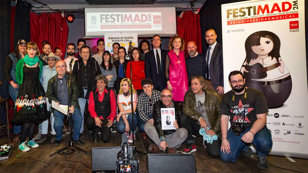 presentación del 26º Festimad