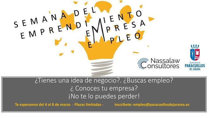 Semana del empleo y el emprendimiento en Paracuellos del Jarama