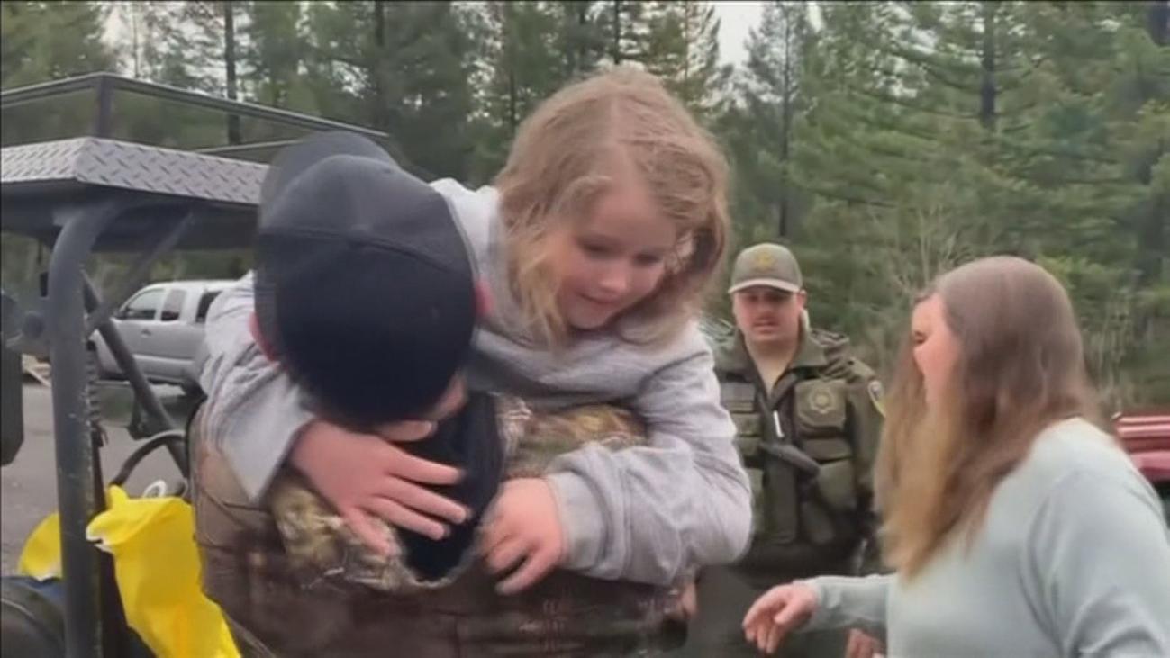 Así consiguieron sobrevivir dos niñas perdidas en un bosque de California