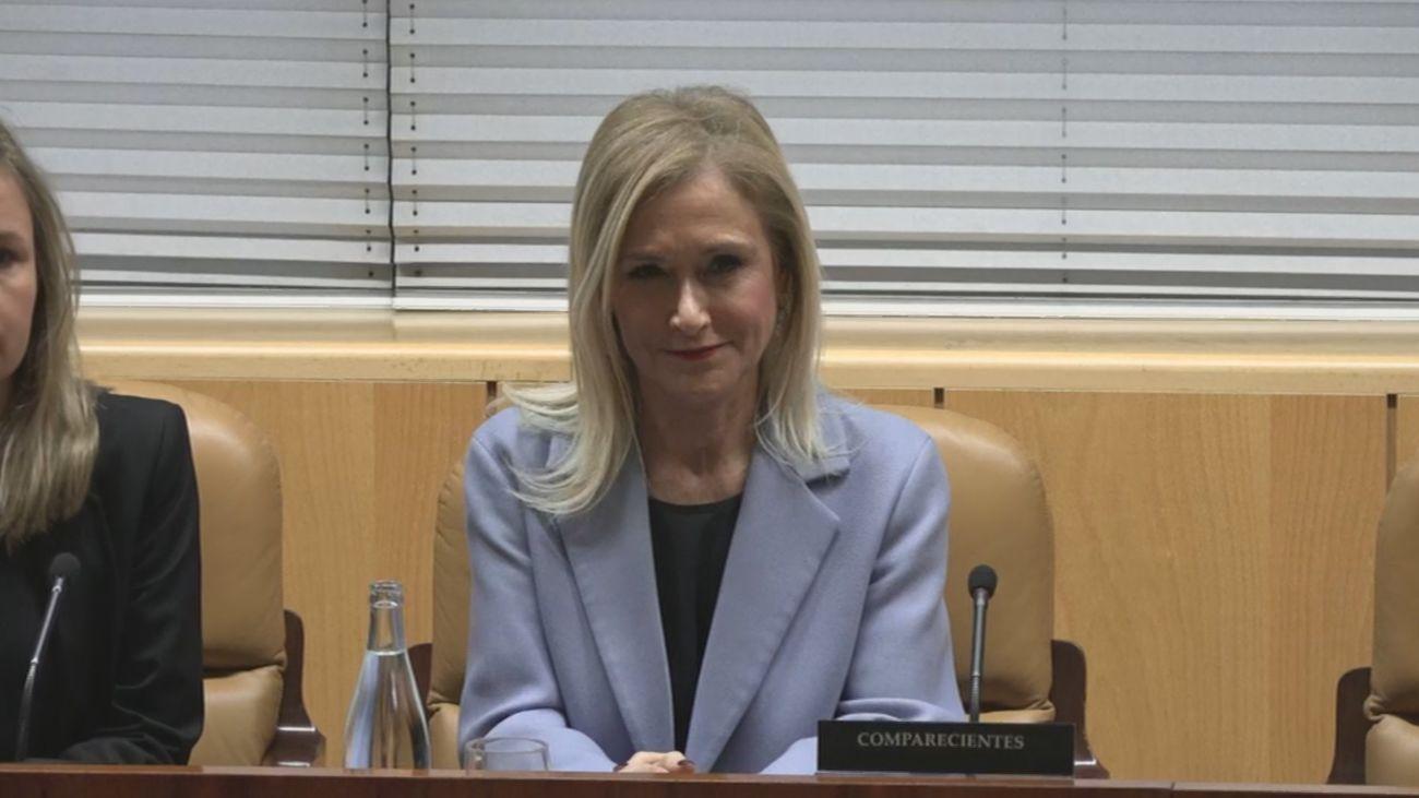 Cristina Cifuentes en la Asamblea