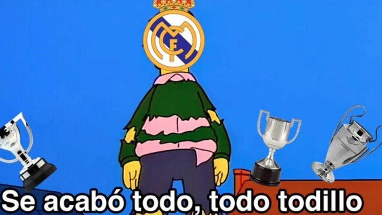 Los memes no perdonan al Real Madrid