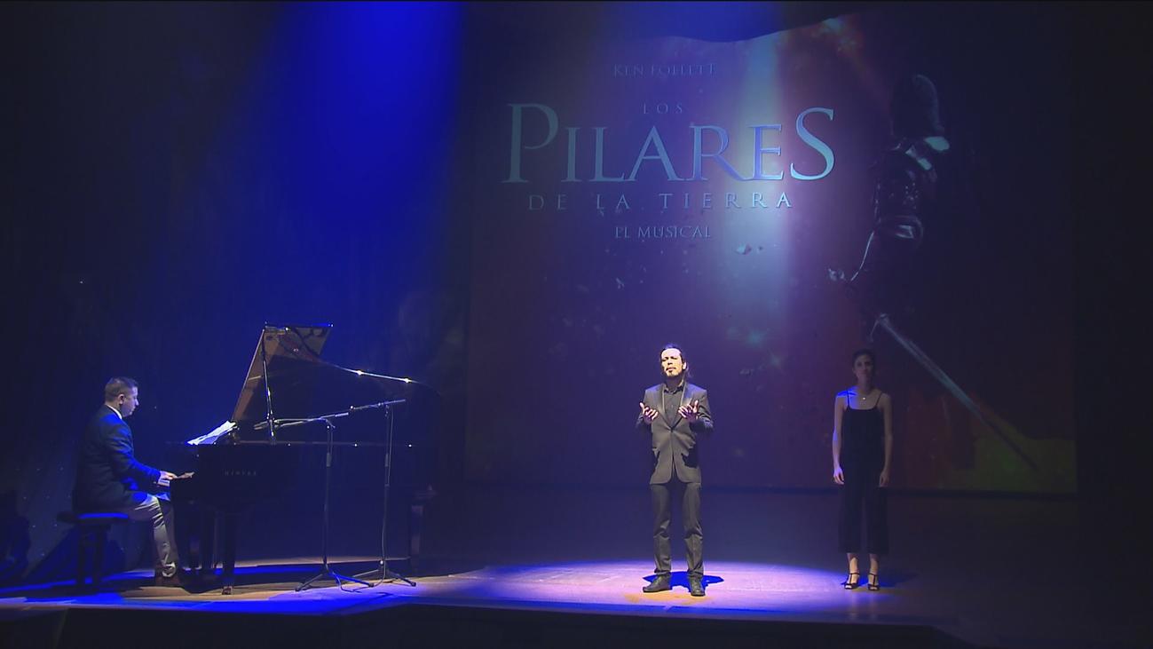 Presentación del musical 'Los pilares de la tierra' de Ken Follett