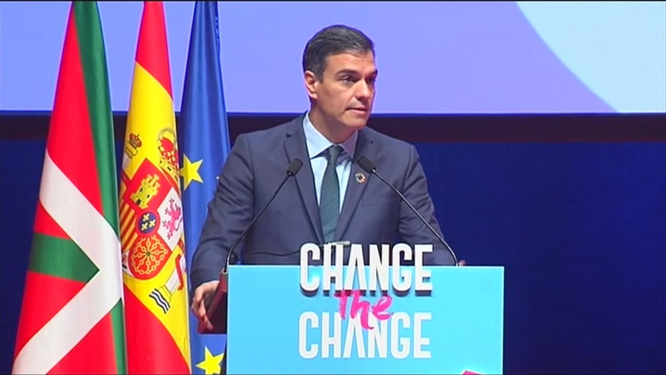 Sánchez llama ignorantes a quienes niegan el cambio climático