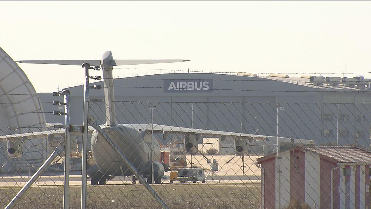 Los sindicatos cifran en 300 empleos los afectados en España por Airbus