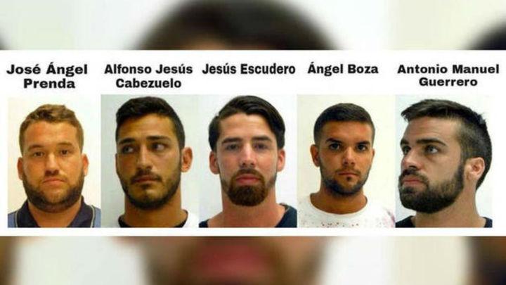 Los cinco miembros de 'La Manada' cumplirán sus penas en cárceles de Andalucía y Castilla y León