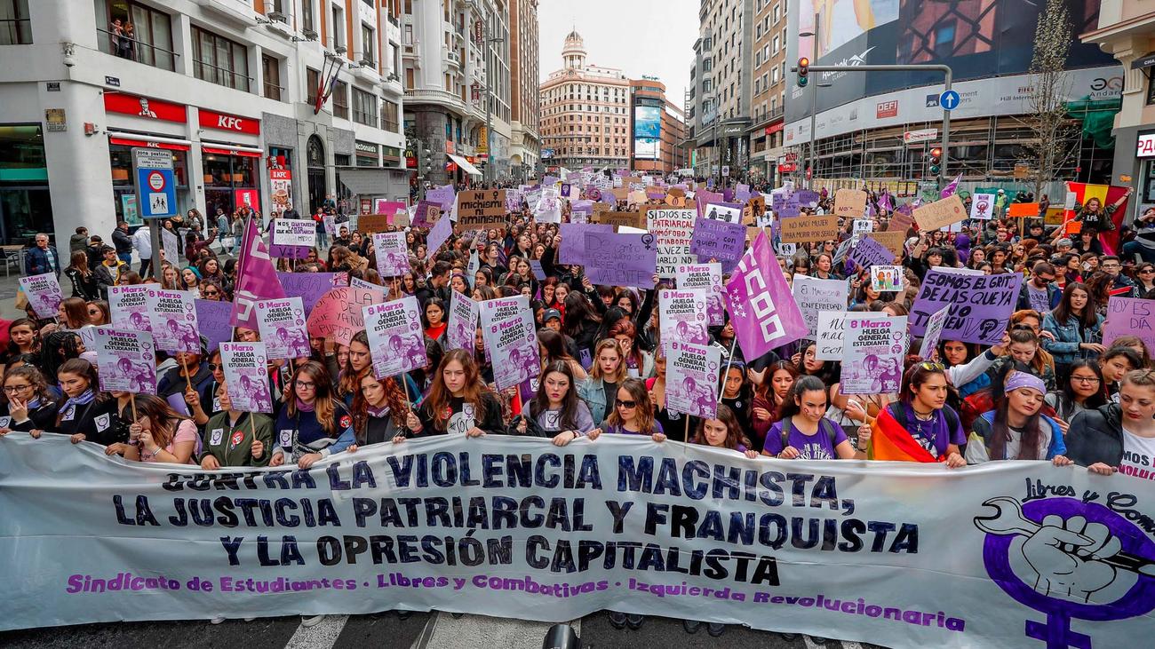Especial informativo: 8-M Día Internacional de la Mujer