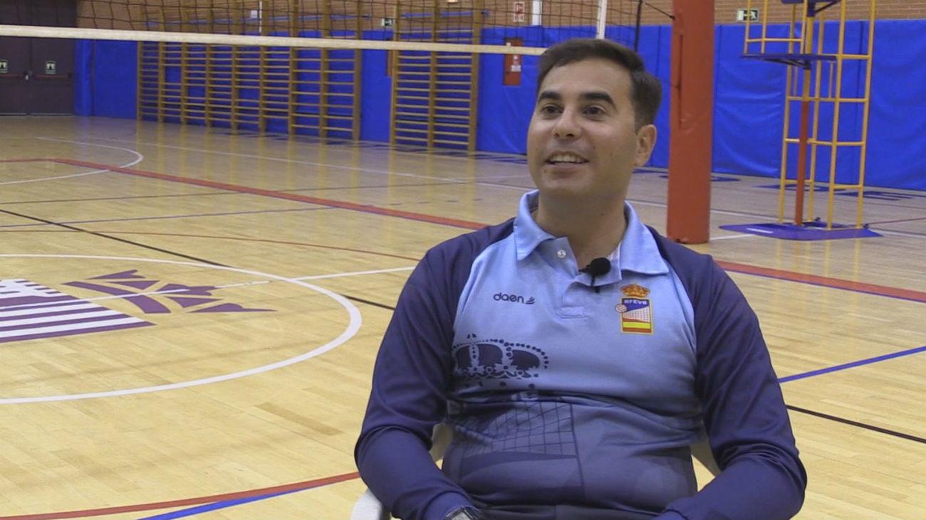 Daniel Ayuso, el arbitraje del voleibol por dentro