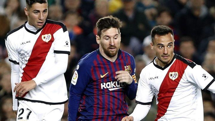 3-1. El Rayo cae con la cabeza alta en Barcelona