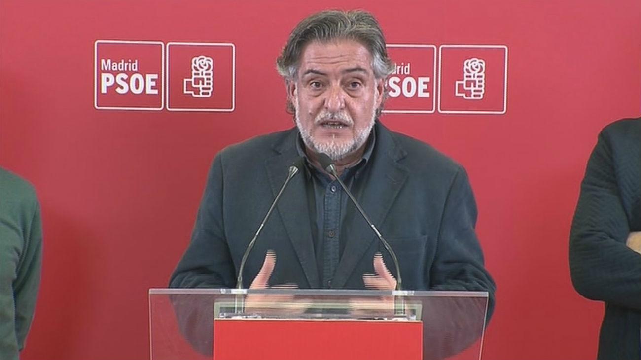 Pepu Hernández, candidato del PSOE en Madrid con el 64 % de apoyos