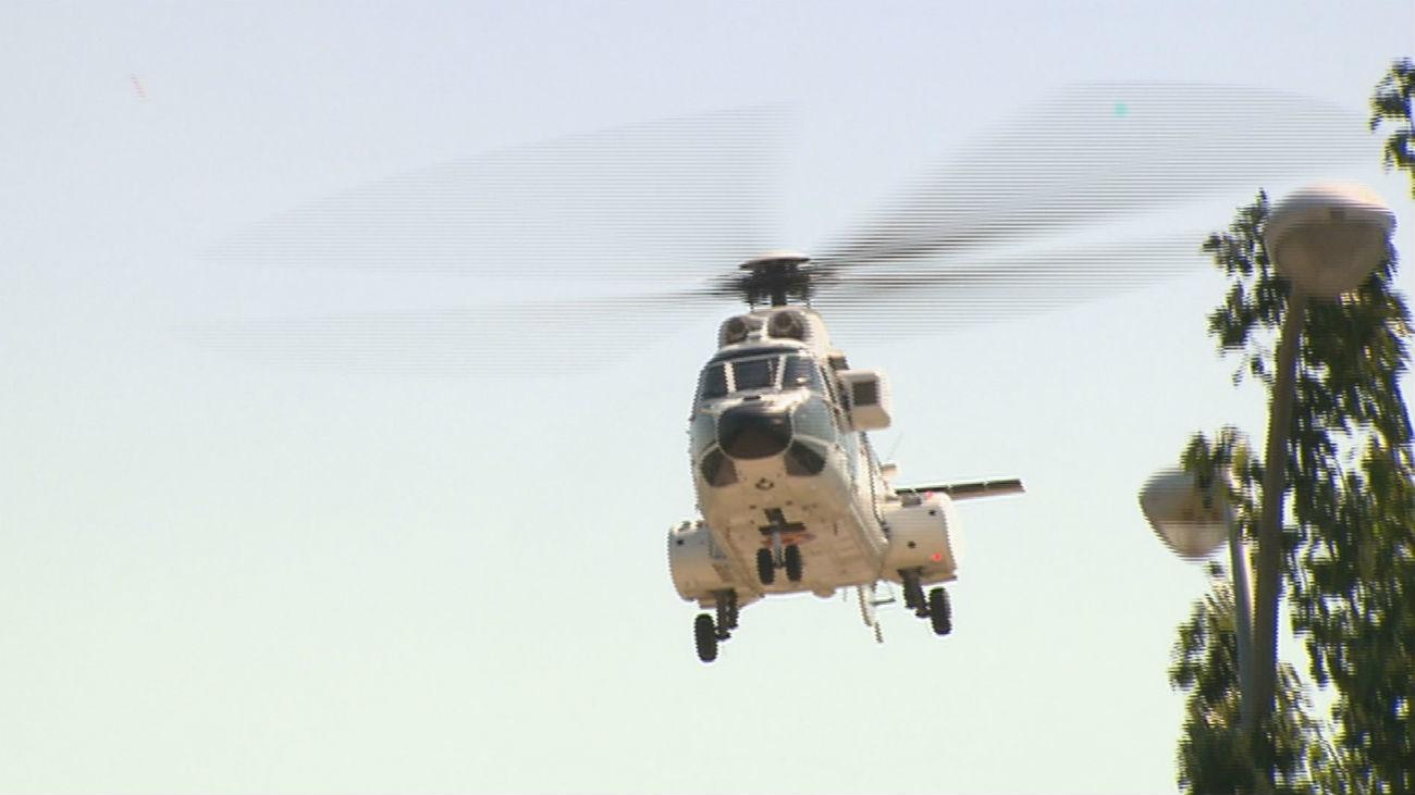Moncloa informará sobre el uso del helicóptero presidencial