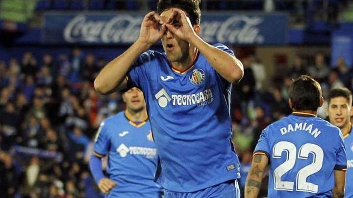 Gol de Mata, de penalti, al Huesca (2-1)