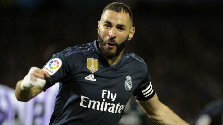 1-4. El Real Madrid reacciona a su crisis ante el Valladolid