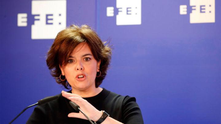 La exvicepresidenta Soraya Sáenz de Santamaría se incorpora al bufete Cuatrecasas