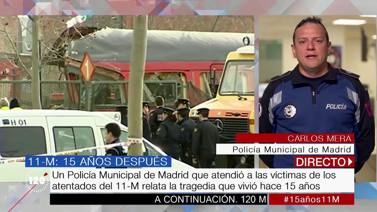 """El testimonio de un policía municipal que atendió a víctimas del 11-M: """"Fue desolador"""""""