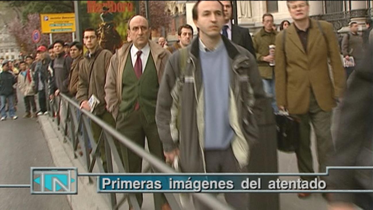 Estas fueron las primeras conexiones en directo de Telemadrid el 11 de marzo de 2004