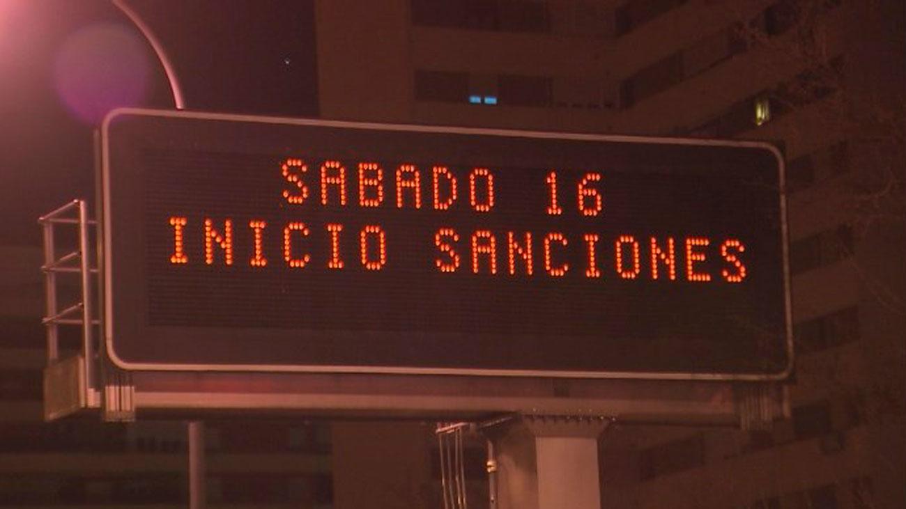 Las multas en Madrid Central comenzarán este próximo 16 de marzo