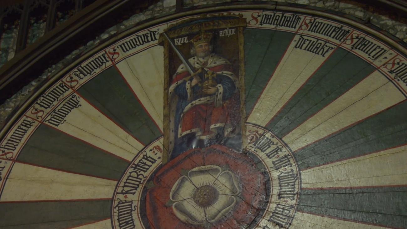 Winchester, el hogar de la Mesa Redonda del rey Arturo