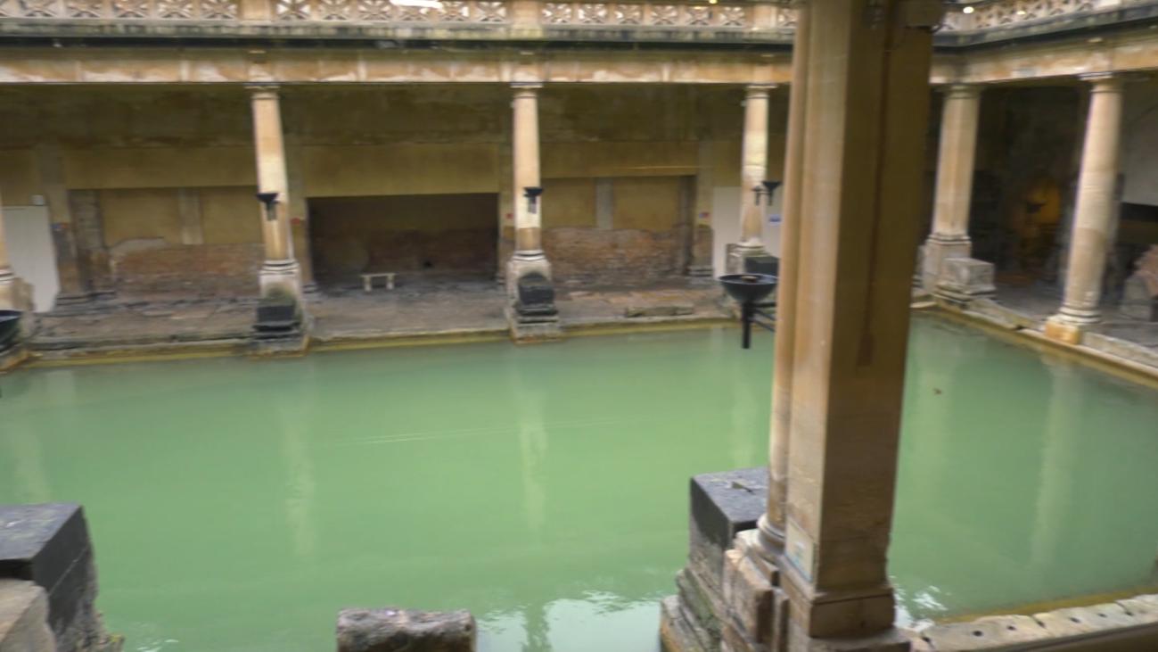 Los baños termales de Bath, una joya romana del  siglo I