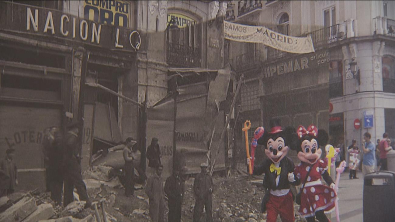Una crónica fotográfica compara Madrid con 80 años de diferencia