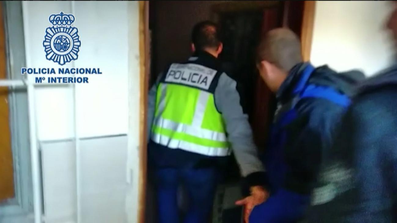 Cerrados 4 'narcopisos' en San Blas, Fuencarral y Alcalá de Henares