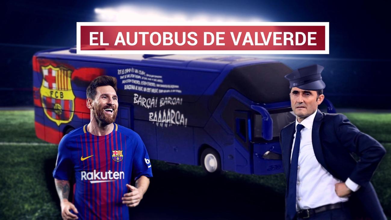 """Valverde ironiza: """"¿Que somos defensivos?"""""""