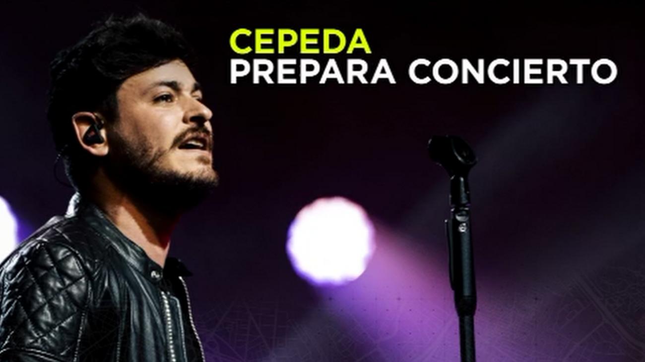 Nos colamos en uno de los ensayos de Cepeda antes de sus conciertos en Madrid