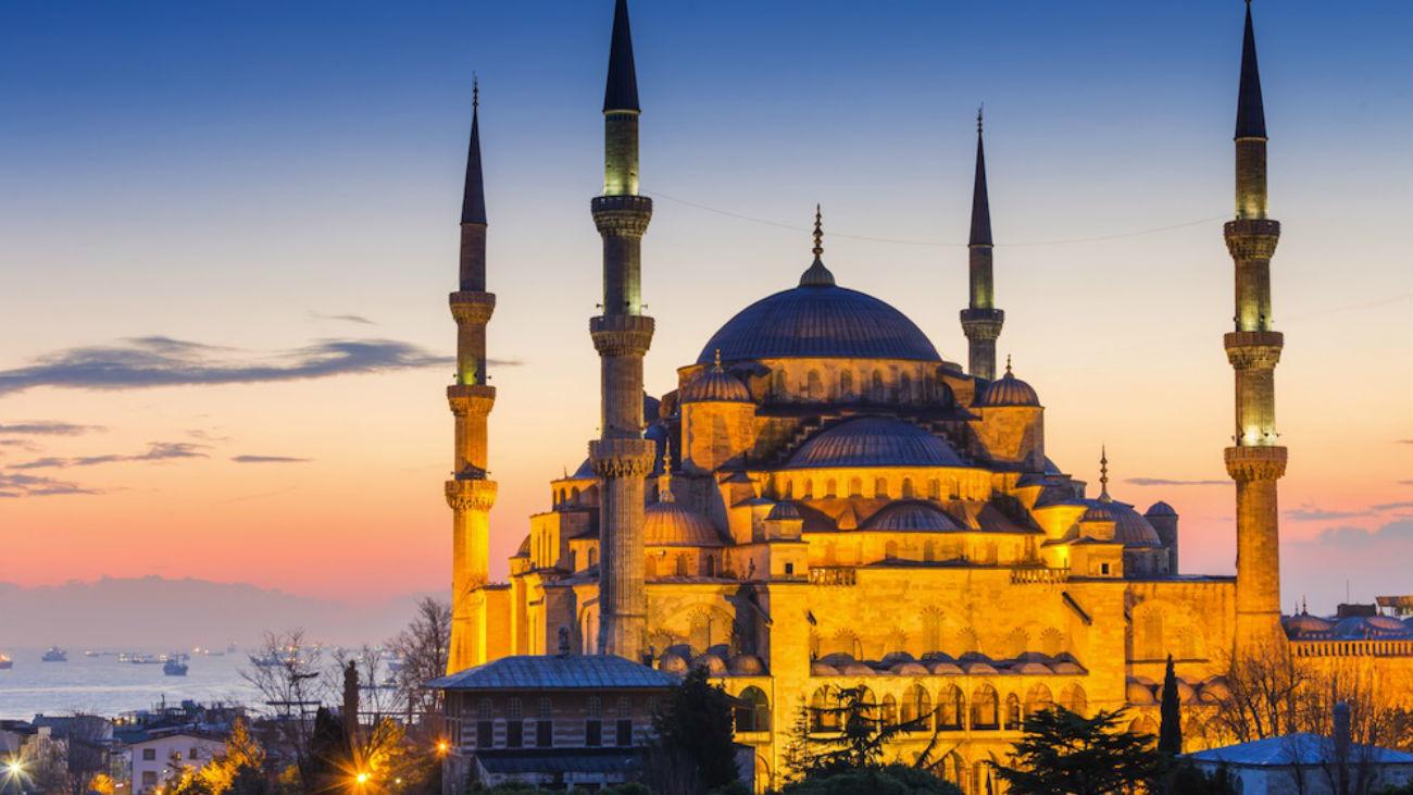 Una imagen de Santa Sofía (Estambul)