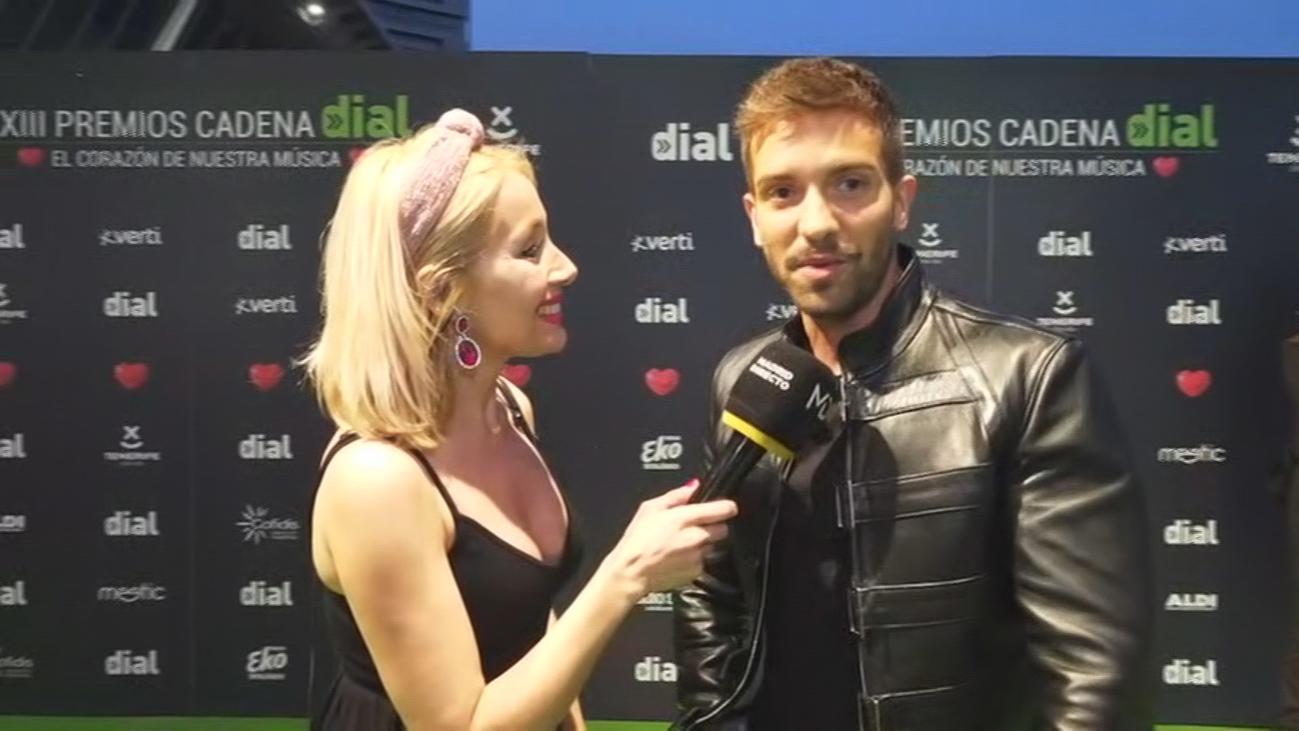 Entrevistamos a David Bustamante y Pablo Alborán a ritmo de premios