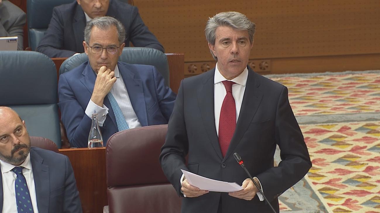 Contaminación, corrupción y desigualdad en el penúltimo pleno en la Asamblea de Madrid