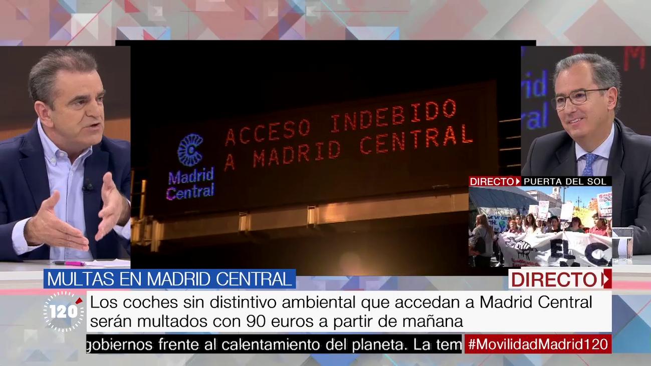 Madrid Central y los semáforos de la A-5, a análisis con los portavoces madrileños