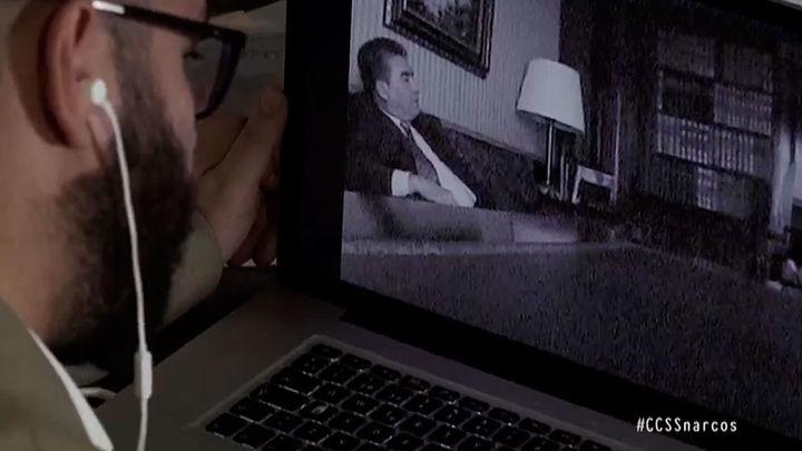 Por primera vez en España, imágenes de las reuniones del cártel de Sinaloa grabadas por el FBI