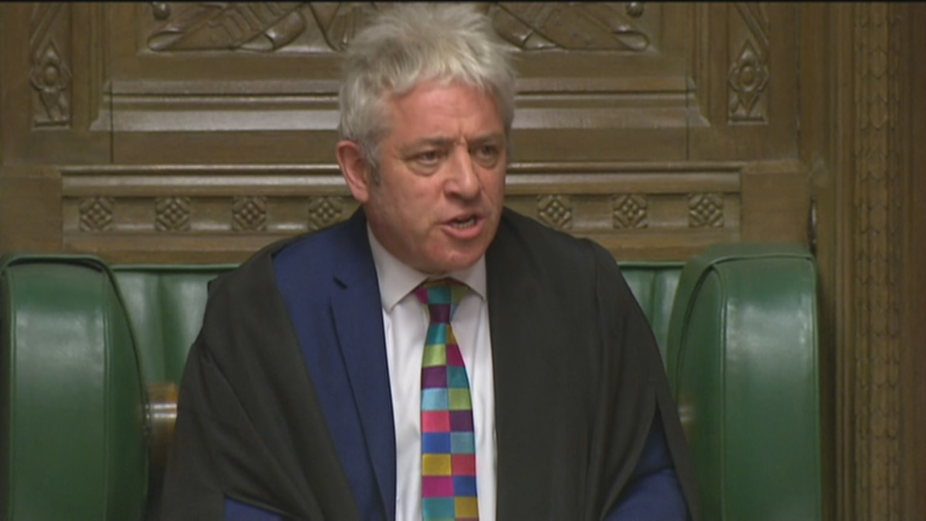 John Bercow, el  'speaker' de los Comunes que marcará el brexit