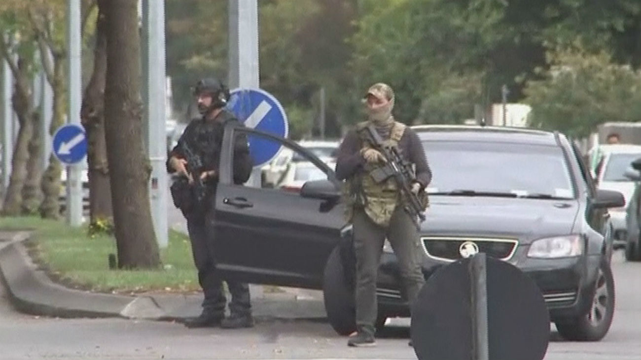 Nivel de alerta máximo tras el doble atentado en  Christchurch