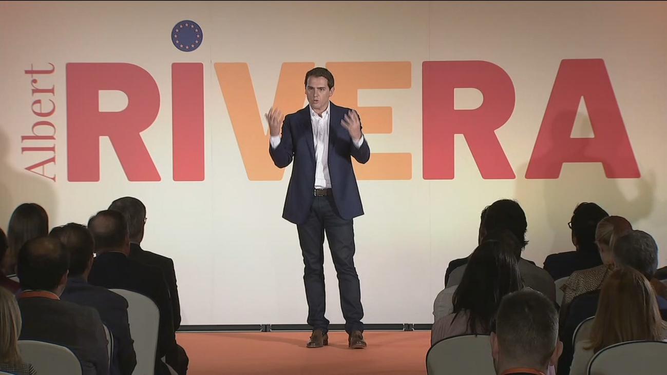 "Rivera reta a Sánchez a un ""cara a cara"" porque ""solo hay dos alternativas"""