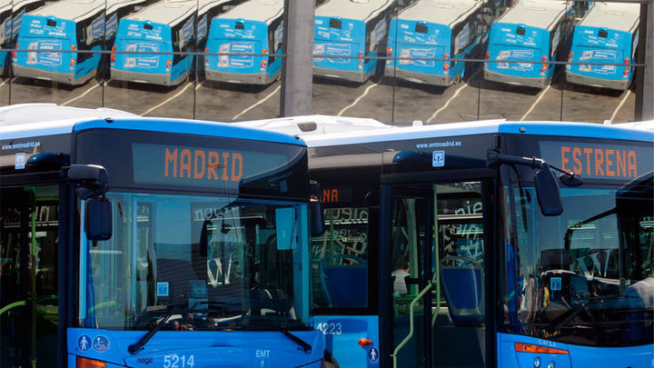 La EMT reforzará 22 líneas con más autobuses