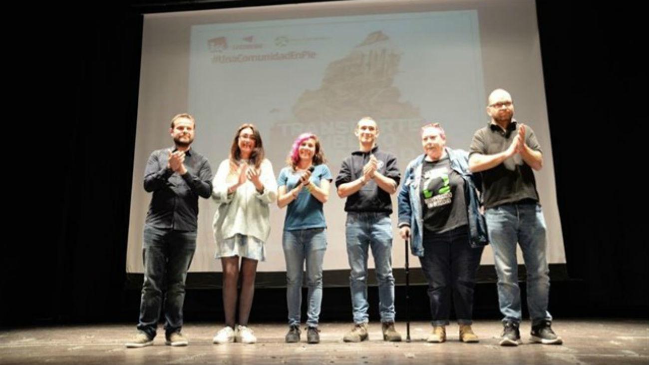 Encuentro Regional de la plataforma 'Madrid en Pie', candidatura conjunta promovida por Izquierda Unida y Anticapitalistas