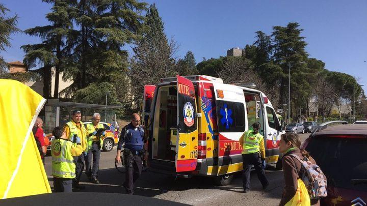 Muy grave un hombre tras sufrir una parada cardíaca durante una carrera en Madrid