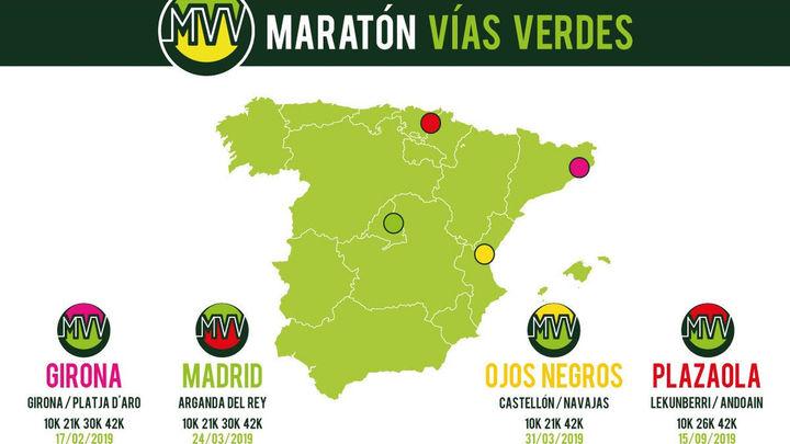 Maraton Vías Verdes de Arganda del Rey