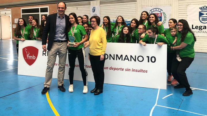 Balonmano Sanse, campeonas juveniles de Madrid