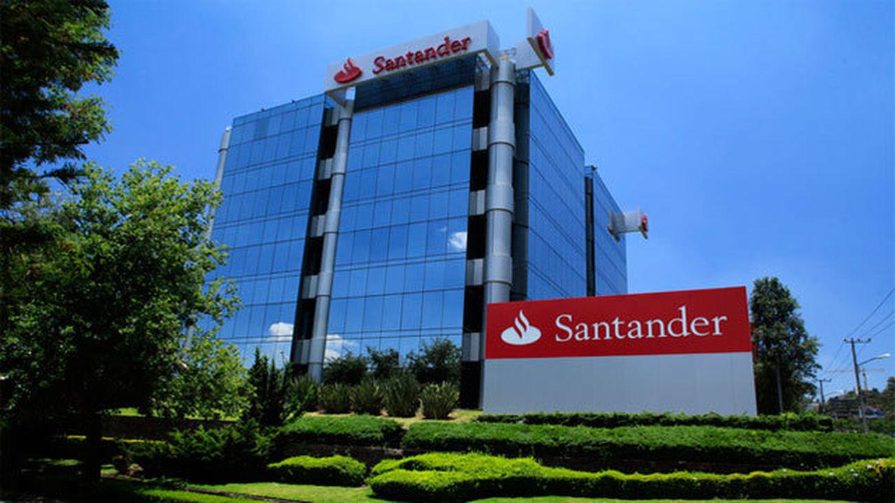Sede del Banco Santander en la Ciudad Financiera de Madrid