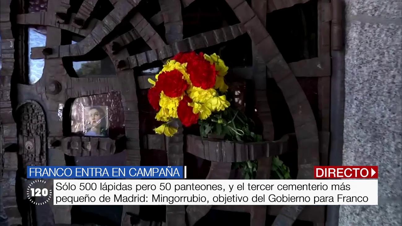 Así es el cementerio de Mingorrubio en El Pardo