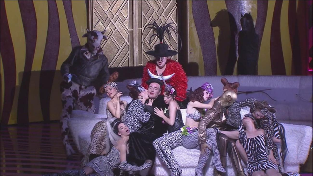 'La Calisto' une en el Teatro Real sexo e ironía como crítica al poder del siglo XVII