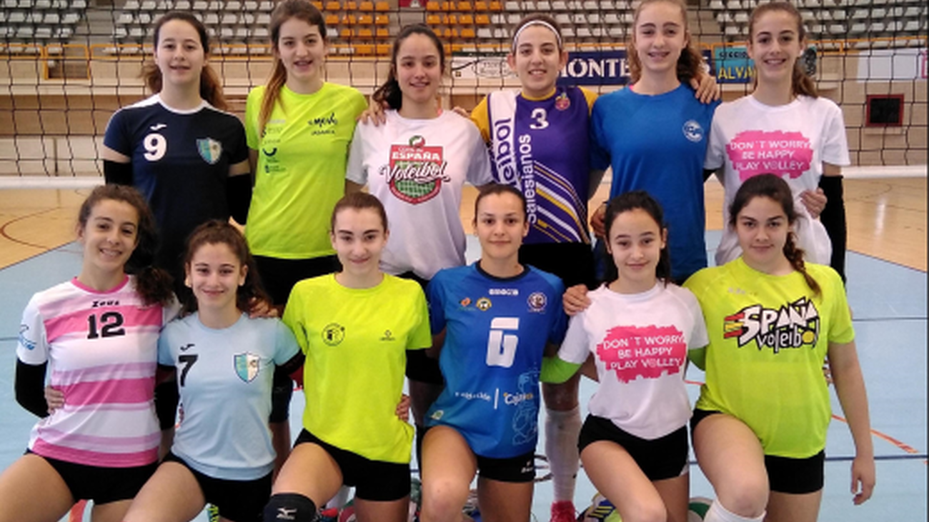 Seguimiento de las jóvenes promesas del voleibol