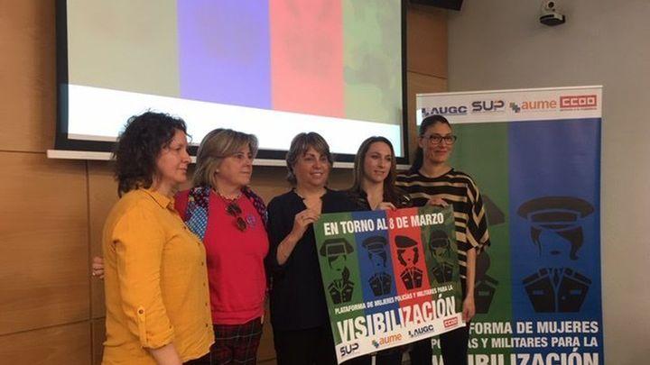 Plataforma de Mujeres Policías y Militares para incrementar su visibilidad